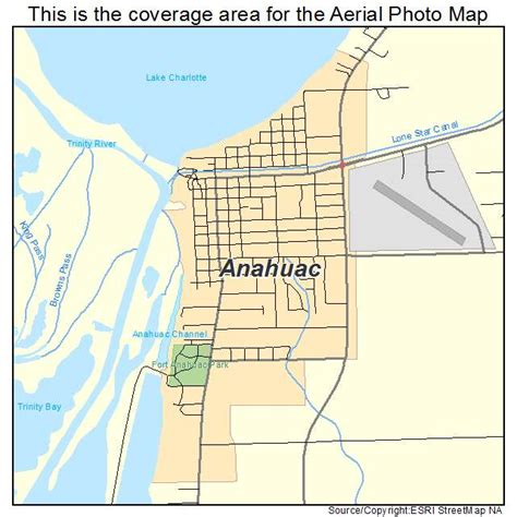 map of anahuac texas aerial photography map of anahuac tx texas