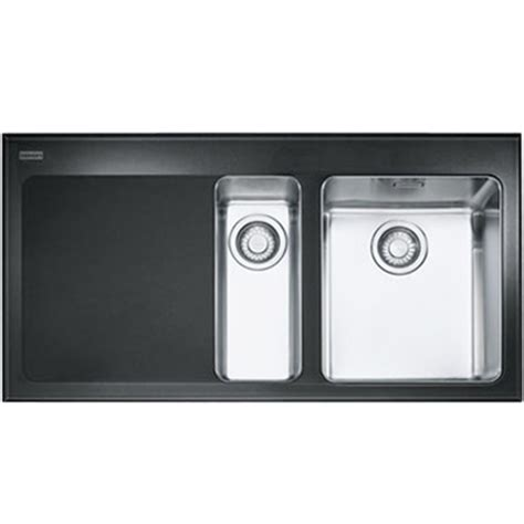 Franke Kubus Kbv 651 Glass Kitchen Sink Lhd 101 0052 397 Glass Kitchen Sinks