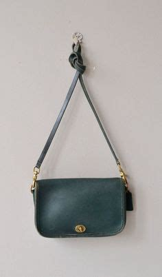 Tas Coach Crosby Mini Green vintage coach bag willis bag crossbody bag