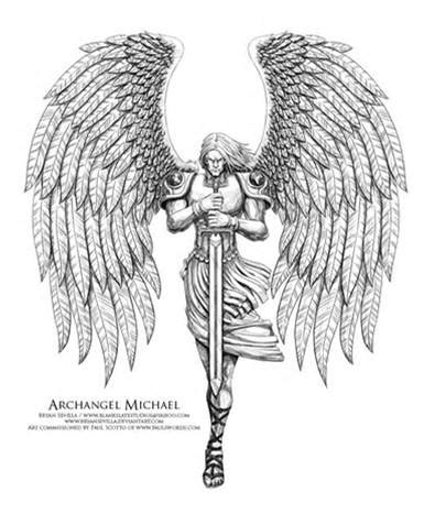 archangel gabriel tattoo designs archangel michael drawings archangel michael 2 by