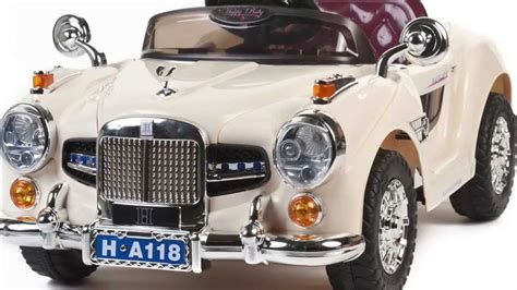 vintage 12v rolls royce style ride on car