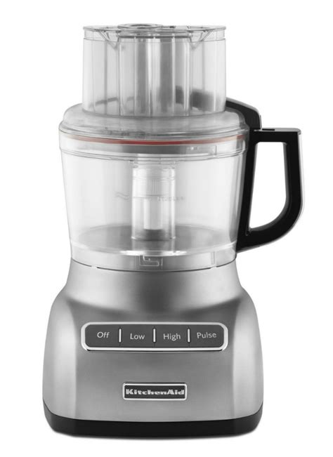Kitchenaid Appliances Made By Kitchenaid Artisan Kfp1333 Food Processor Contour Silver