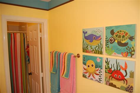 Kids Bathroom Decorating Ideas by Kids Bathroom Decor Home Designs Project
