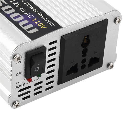 Ac Portable Inverter dc 12v to ac 110v portable car power inverter charger converter 1000w watt e0 ebay