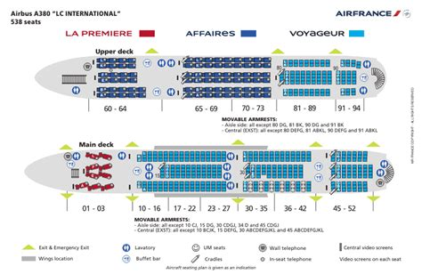 airbus a380 floor plan air france a380 seatmap a380 pinterest air france