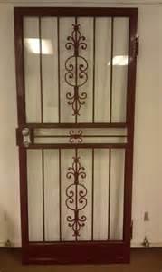 steel door design steel security storm door with matador design storm doors