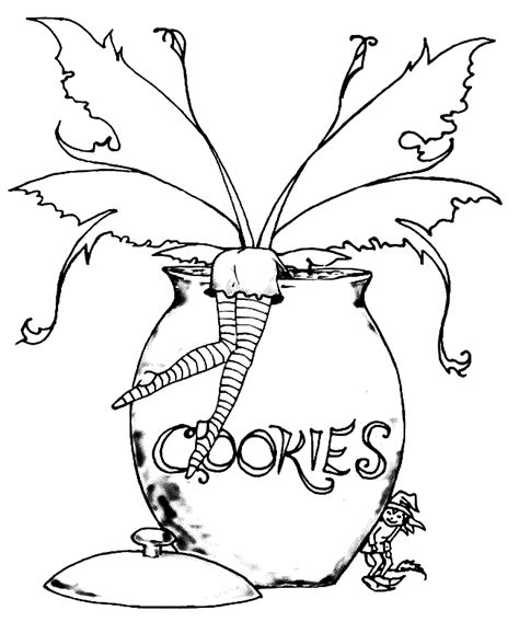 free coloring pages of adult gothic fairy