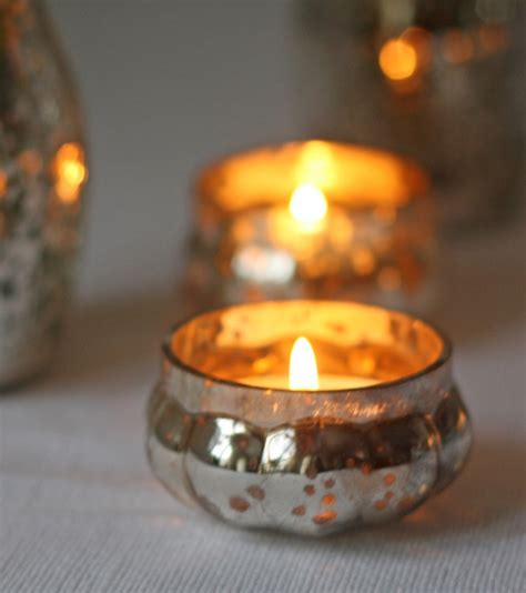 use tea light candle holders for decoration in decors