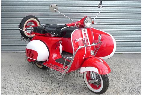 Sold: Vespa 150cc Scooter with Sidecar Auctions   Lot 31