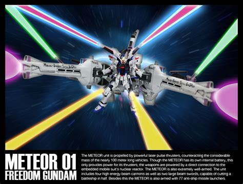 Gundam Hgce 1 144 Freedom Gundam Meteor Unit meteor unit freedom gundam by iludov on deviantart