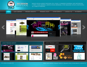 free cool website templates cool web template by michaelleepatricio on deviantart