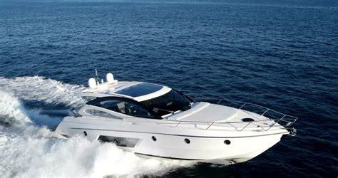 motorboat in italian motor boat rio yacht best italian shipyard stock footage