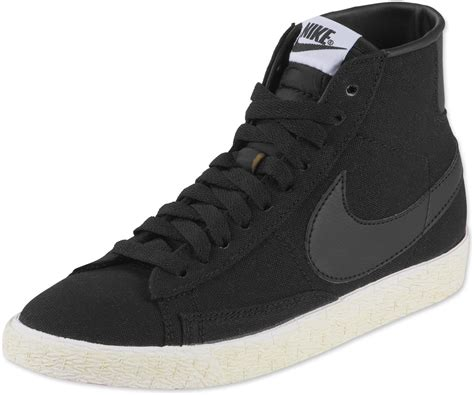 nike blazer high vintage w shoes black