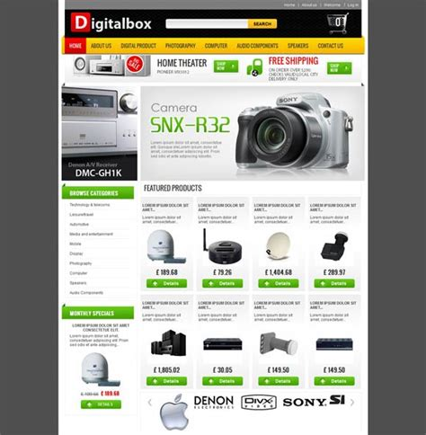 membuat web ecommerce dengan prestashop 25 best free prestashop themes for ecommerce website