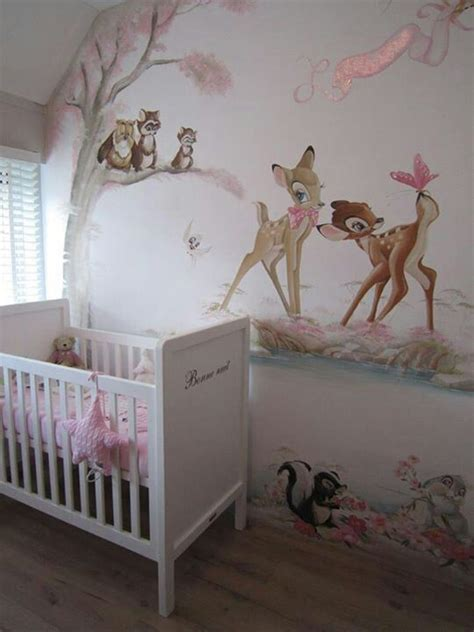 wallpaper for baby bedroom bambi wall mural pinteres