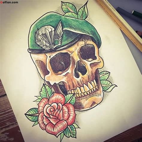 british army tattoos designs 65 horrible army skull pictures scary skull