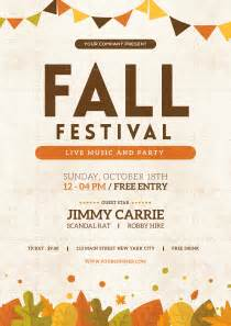 fall festival flyer template fall festival flyer by tokosatsu graphicriver