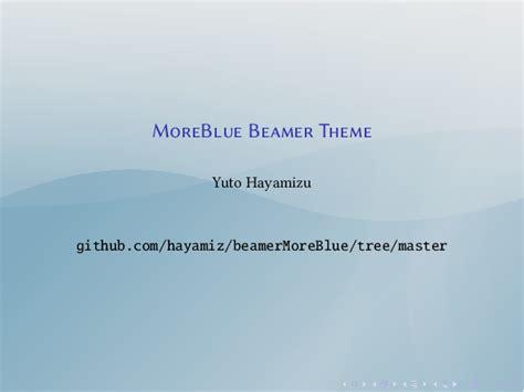 beamer themes in lyx malaysian latex user group blackboard darkconsole and