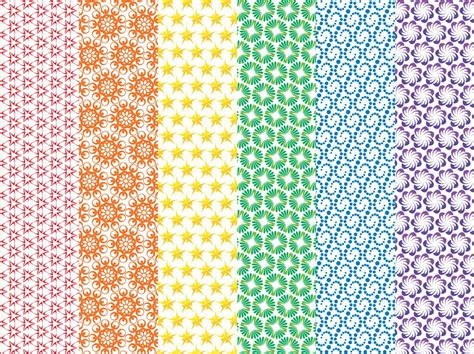 colorful vector patterns vector art graphics