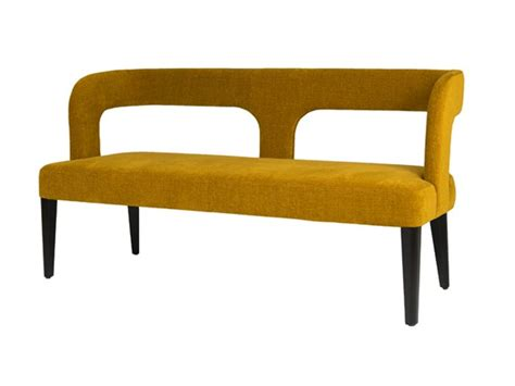 upholstered benches with backs upholstered bench with back penelope by hamilton conte paris