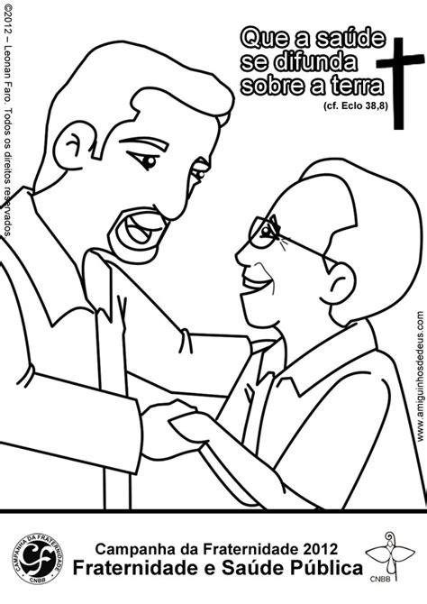Campanha da Fraternidade 2012: Desenhos para colorir