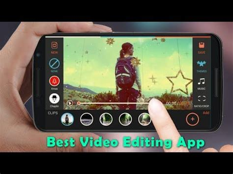best android tutorial youtube best free android video editing app edit videos with