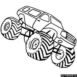 pics photos digger monster truck coloring pages colouring