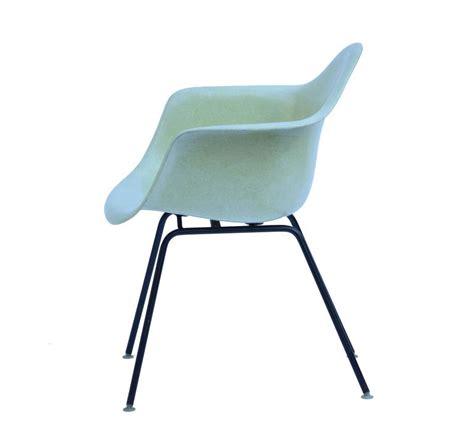 eames fiberglass chair vintage yellow eames fiberglass chair for herman miller at