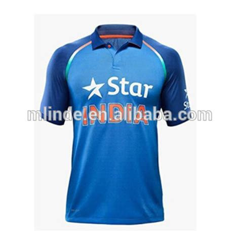 design jersey online india customized indian cricket jersey super soft knit cricket