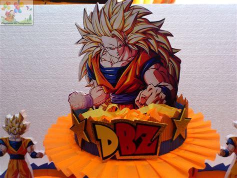 imagenes de goku para cumpleaños decoraciones infantiles dulcera 3 bases goku dragon ball z