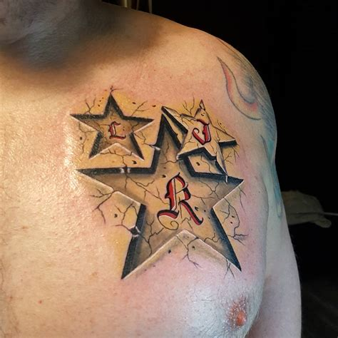 best star tattoos for men 75 unique designs meanings feel the space