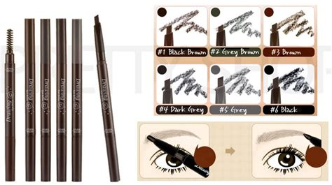 Etude House Drawing Eyebrow No 6 another story of me review etude house drawing eye brow