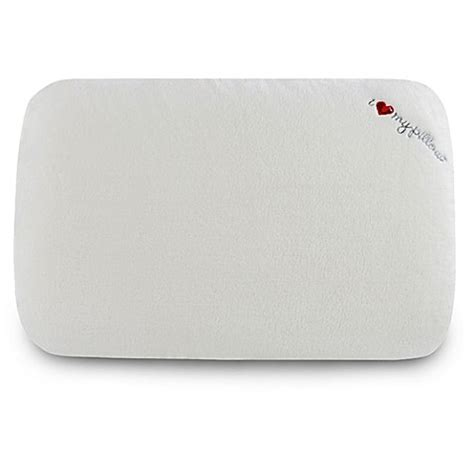my pillow at bed bath and beyond love my pillow low profile bed pillow bed bath beyond