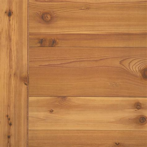 Wainscoting 4x8 Sheets by Wood Paneling Western Cedar Wall Paneling