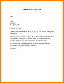 Regret Letter For A Regret Letter Format Applicant Rejection Letter Sle Png Blank Budget Sheet