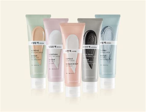 The Faceshop Mask the shop baby mask pack 50ml korean cosmetics