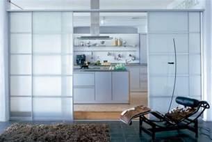 Ideas For Room Dividers by Schiebet 252 R Zwischen K 252 Che Und Wohnzimmer 25 Tipps