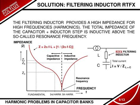 capacitor bank inductor ppt harmonic problems in capacitor banks powerpoint presentation id 4967102