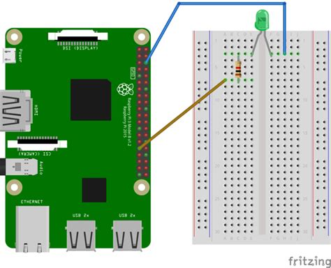 raspberry pi led resistor your blinking led with android things 183 android things
