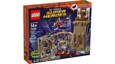Lego Heroes Batcave 76052 76052 batman classic tv series batcave products dc