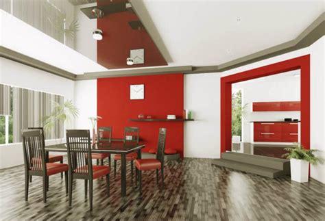 pintar un comedor ideas para pintar tus paredes de color rojo vix