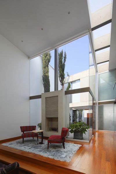 patio interior sinonimo casa familiar moderna