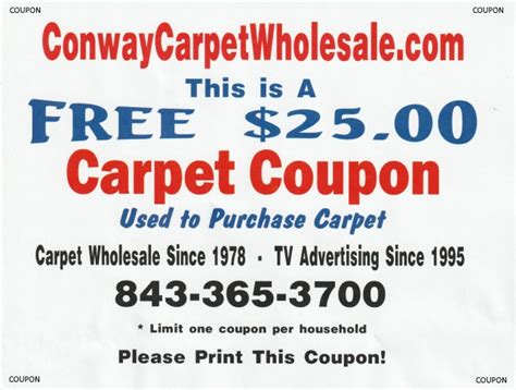 Specials Myrtle Beach Discount Wholesale Carpet House Myrtle Coupons