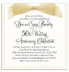 invitation wordings for 50th wedding anniversary wording for 50th wedding anniversary invitations the