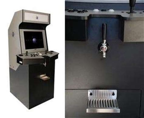 Cabinet Coll by Arcade Cabinet Kegerator Hybrid The Gamerator