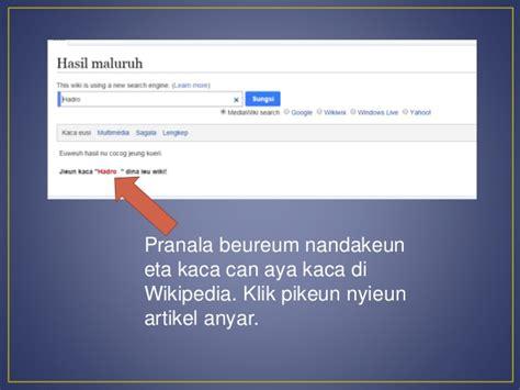 membuat artikel wikipedia wiki sabanda cara membuat artikel