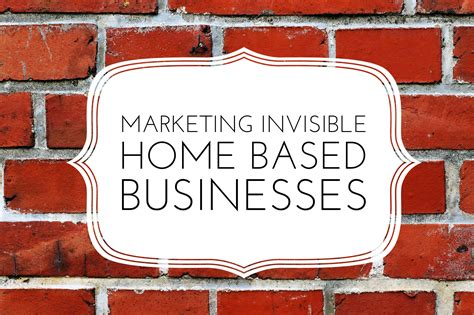marketing invisible home based businesses altrincham hq