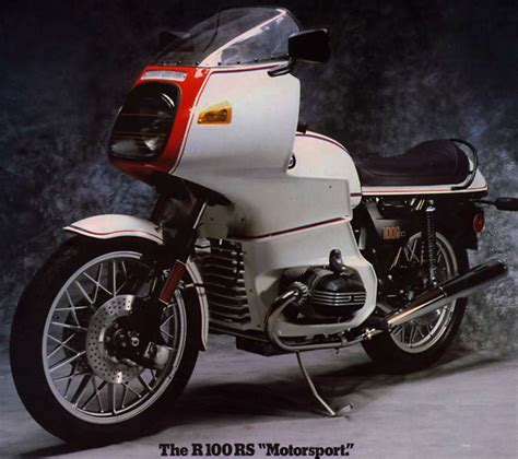 Bmw Motorrad Owners Club by R100rs History Een Icoon R100rs