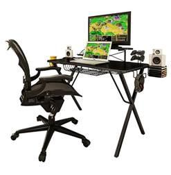 atlantic gaming desk atlantic 33950212 gaming desk pro ebay