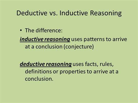 define inductive reasoning 28 images college essays